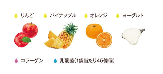 ヤマザキ ランチパック ごろっとフルーツ入りクリーム