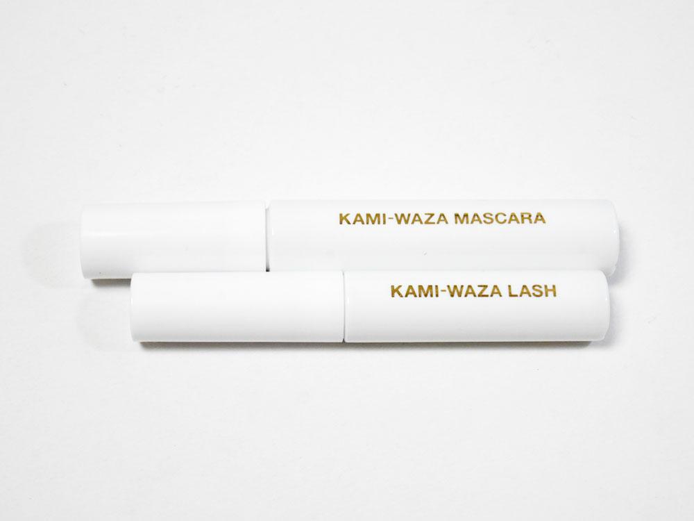 KAMI-WAZA まつ毛美容液とマスカラ