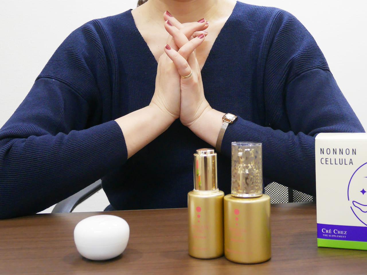 石川名美さんの化粧品開発のこだわり