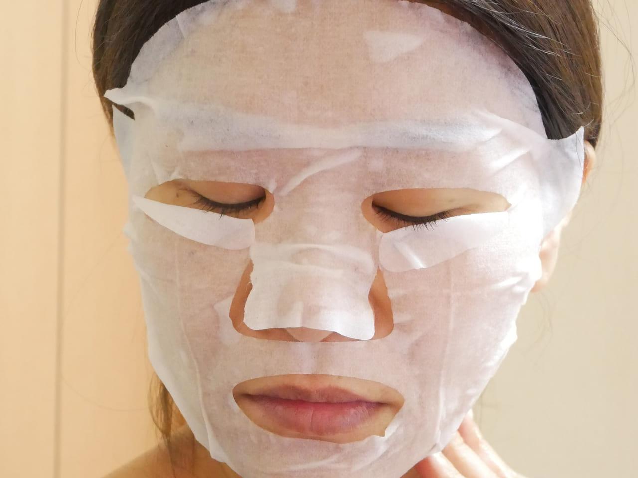クオリティファースト オールインワンシートマスク 使ってみた