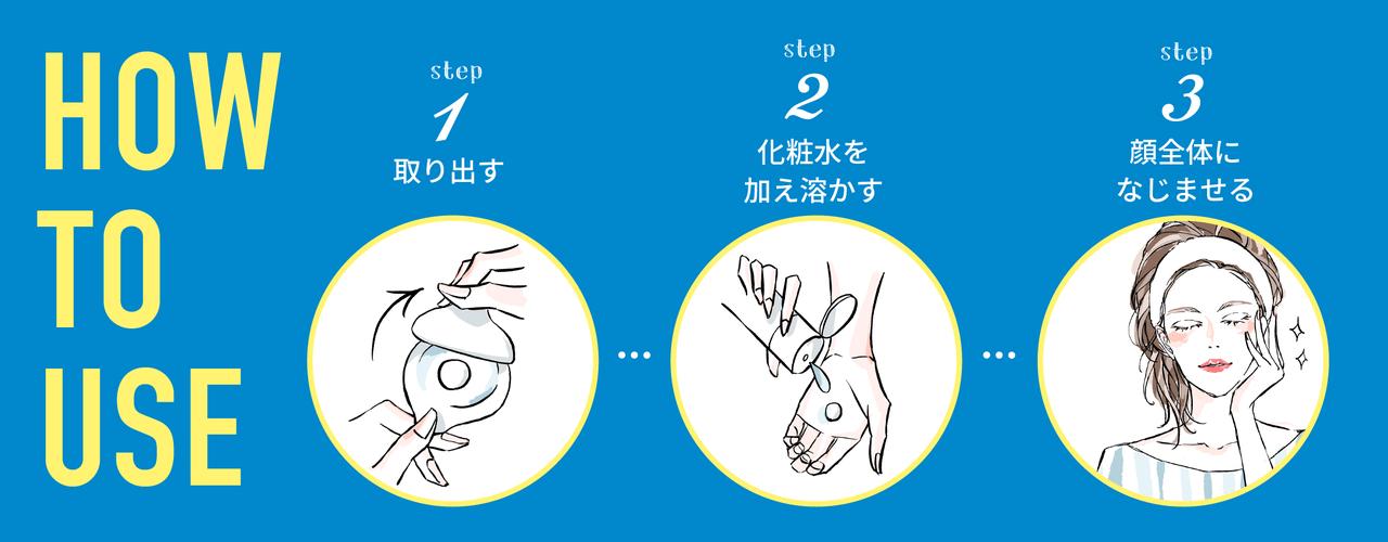リッツ うるおい玉 使用方法