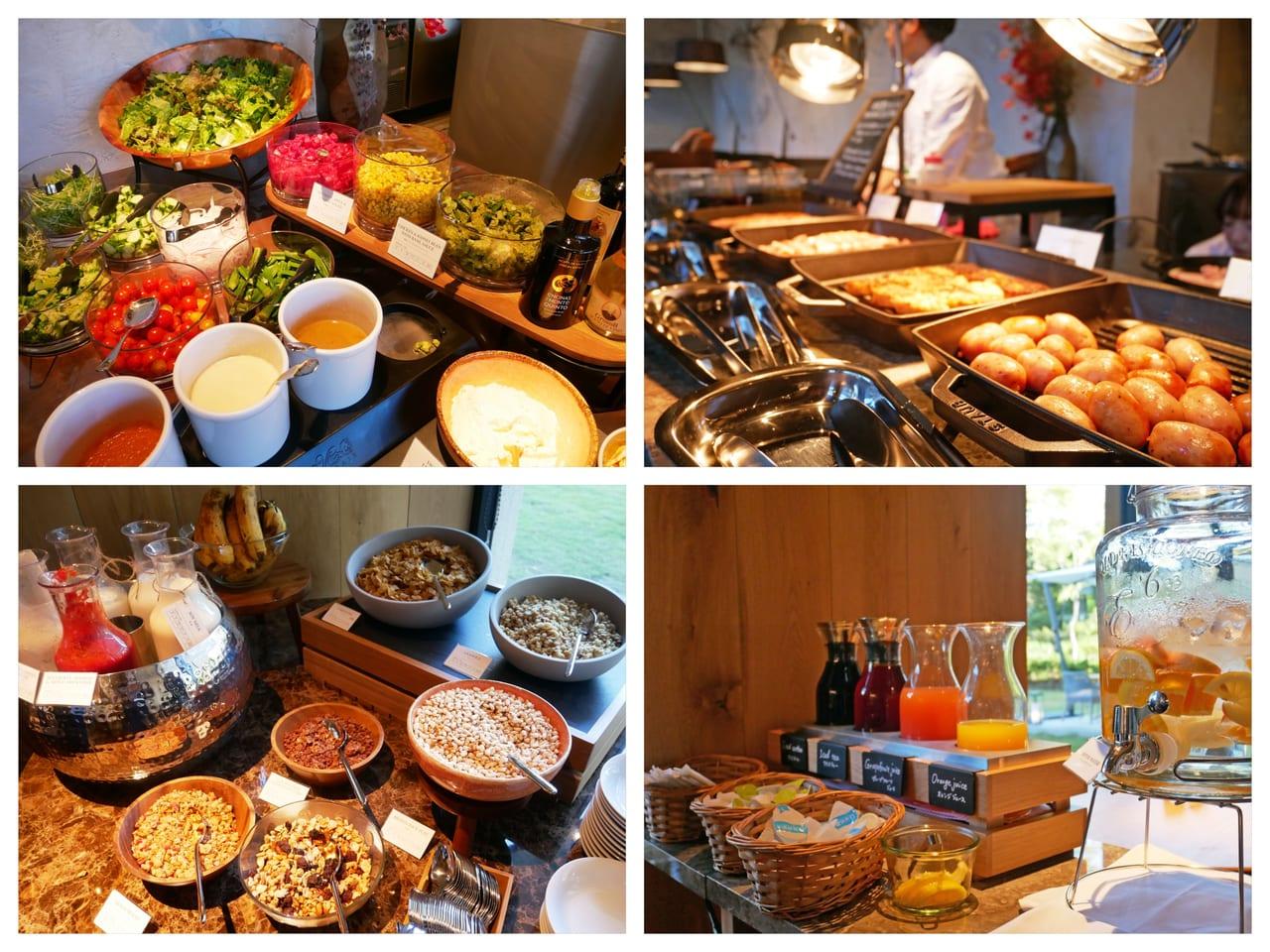 三井ガーデンホテル神宮外苑の杜プレミア 朝食ブッフェ