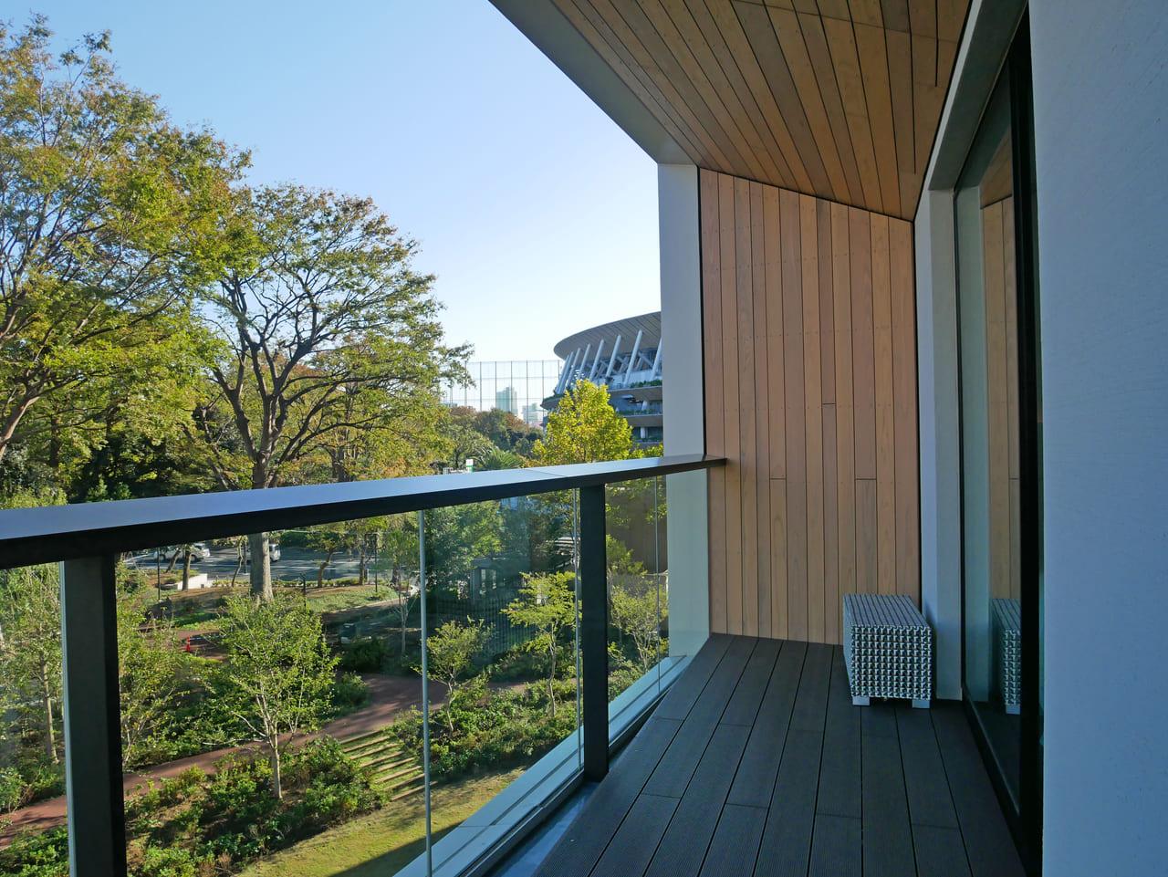 東京 ベランダ付きホテル 三井ガーデン