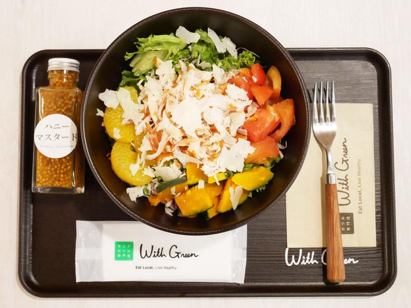 トレーニング 食事 サラダ タンパク質 メニュー