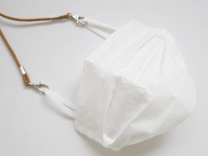 不織布マスクに使えるマスクストラップ
