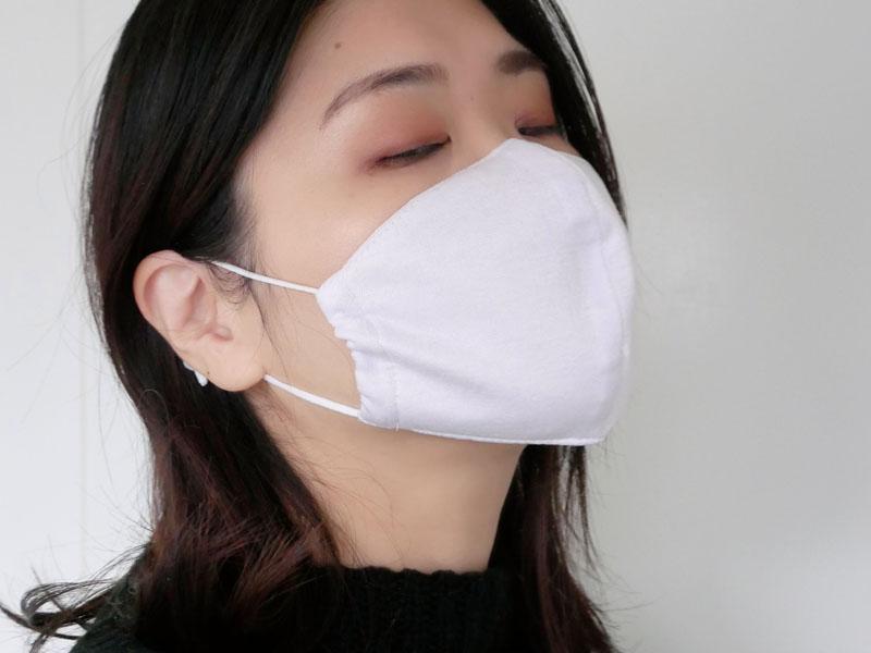 セルエフ 肌にやさしいコットンマスク デザイン