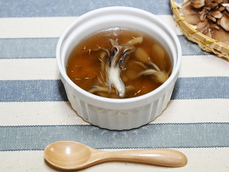 まいたけカップスープ レシピ