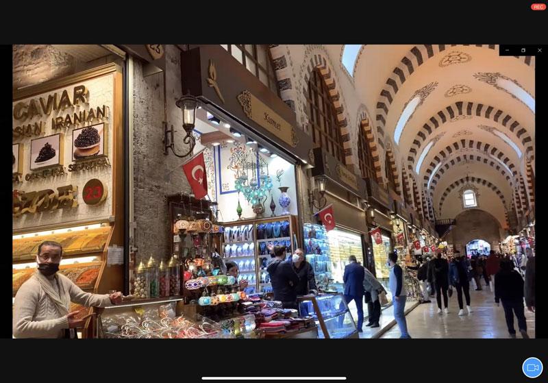 HIS オンラインツアー トルコ 内容 エジプシャンバザール