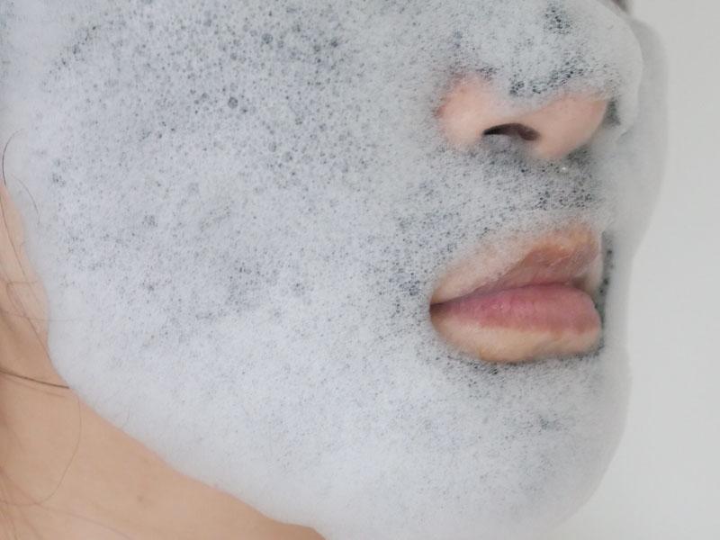 泡立つシートマスク 美白効果